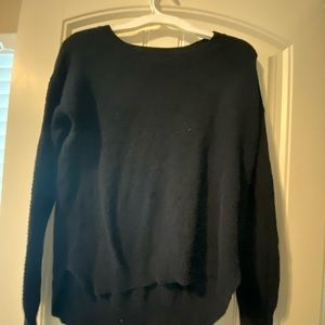 Cotton on dark navy sweater